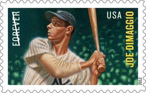 Joe DiMaggio Postage Stamp